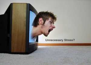 reducing stress that is unnecessary