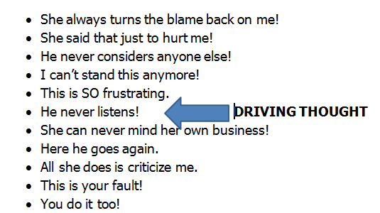 Grab That Driving Thought!